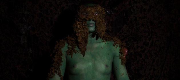 Moss figure (detail)