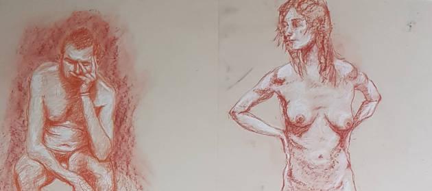 Life-drawings by Paul Watson