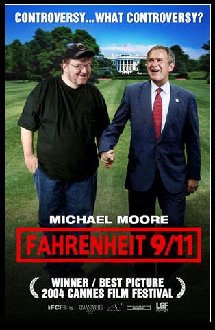 Fahrenheit 911 publicity poster