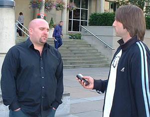 Shane Meadows and Joe Field
