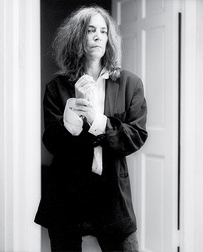 Patti Smith - photo by Edward Mapplethorpe