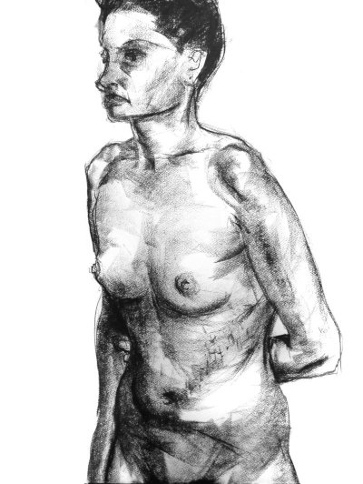 Life Drawing by Paul Watson
