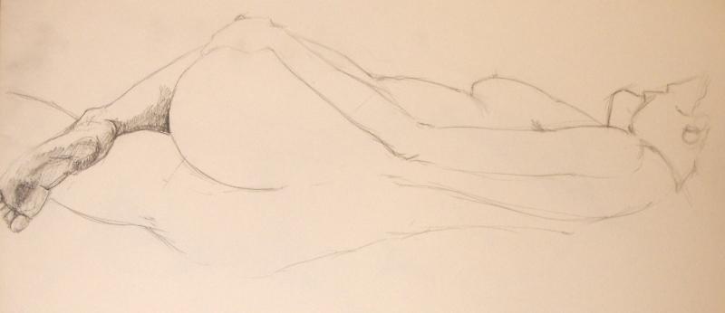 Female Nude, Study 2