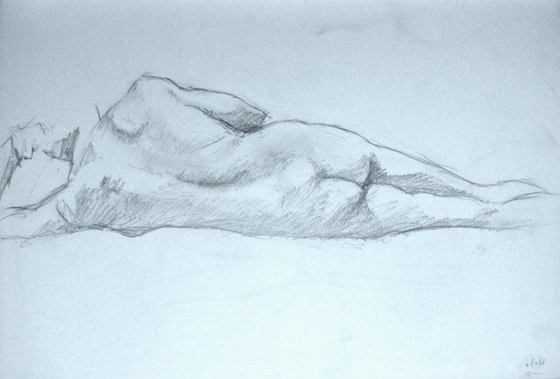 Male Nude, Study 1