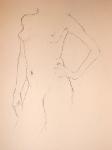 Female Nude, Study 3